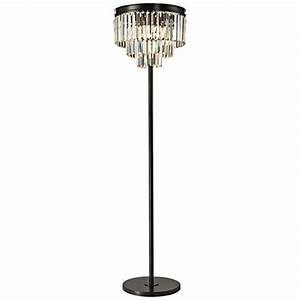 Dimond palatial crystal chandelier floor lamp 7p985 for Chandelier like floor lamp