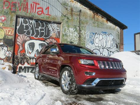 jeep grand cherokee srt suv road test  review