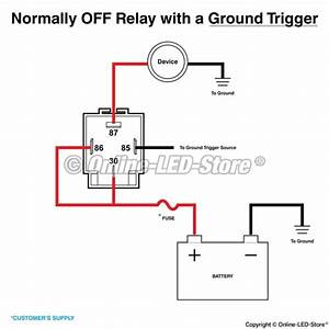 5 Pin Horn Relay Diagram