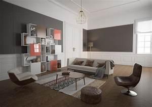 Deco Mural Salon : rev tement mural de salon glastetik ~ Teatrodelosmanantiales.com Idées de Décoration