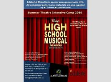 Disney's High School Musical On Stage at Al Whittle