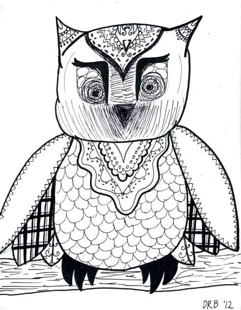 Erins Art Class Line Drawing Animals