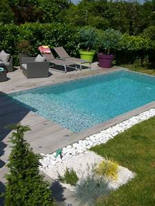 amenagement paysager autour d une piscine creuse charmant With amazing photo d amenagement piscine 15 le jardin 224 la francaise