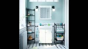 Ikea Salle De Bain : ikea salle de bain meuble salle de bain youtube ~ Melissatoandfro.com Idées de Décoration