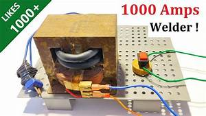New Idea   Make 1000 Amps Welding Machine With Microwave
