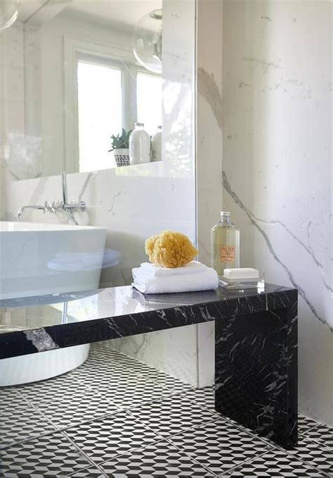 marble slab shower bench design ideas