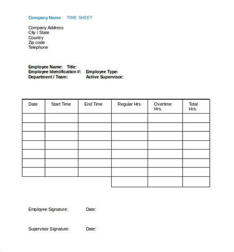 Contractor Paysheet Template Excel by 15 Payroll Templates Pdf Word Excel Free Premium