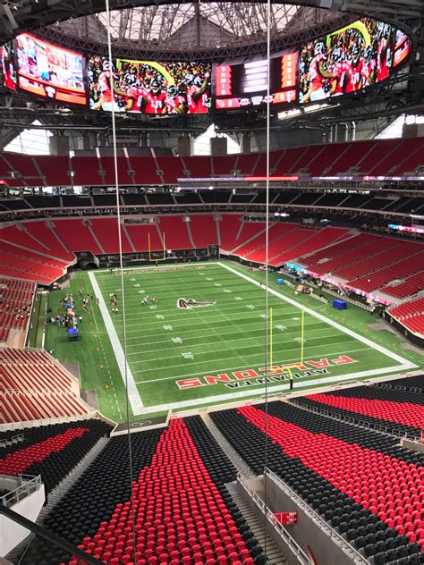 Good availability and great rates. Days away from opening, here's what Mercedes-Benz Stadium looks like now - Atlanta Magazine