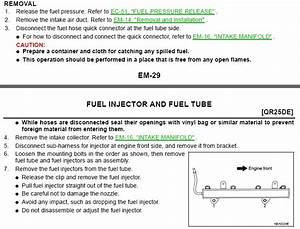 How Do I Replace My Nissan Altima 2 5s Fuel Injectors