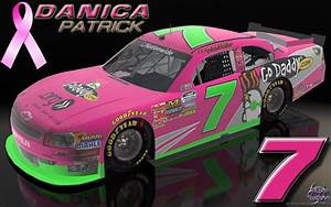 Wallpapers By Wicked Shadows: Danica Patrick Go Daddy Pink Car