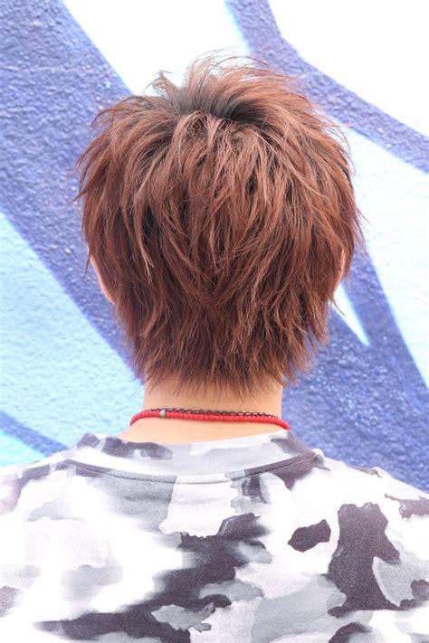 mens hair styles スウィングスラッシュショート メンズ 髪型 原宿 mens hairstyle メンズ ヘアスタイル 5322