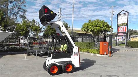 bobcat  mini skid steer loader unused southern tool equipment youtube