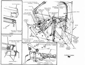 1986 Ford Bronco Ii  Without Removing  The Plastic Bracket