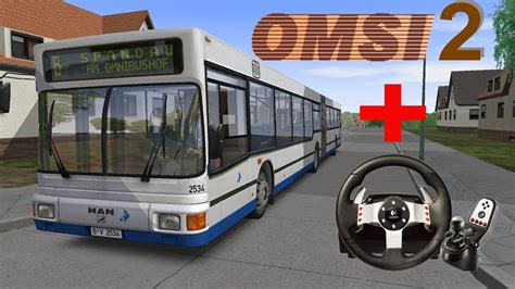 Omsi 2 Bus Simulator Free Roam Gameplay + G27 !!! Hd