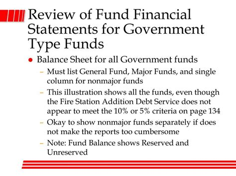 Define Bond Sinking Fund Accounting by Ppt Essentials Of Accounting For Governmental And Not