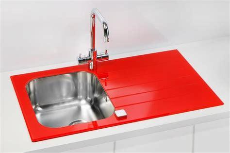 white glass kitchen sink glass kitchen sink black white bespoke colours yellow 1310