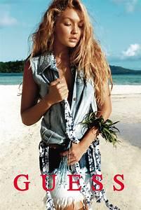 THE SHARPER: Gigi Hadid & Stephan Lambert for Guess SS ...