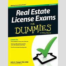 Real Estate License Exams For Dummies By John A Yoegel  9781118572832  Paperback  Barnes & Noble