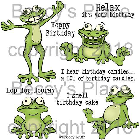 beccys place  release frog hop