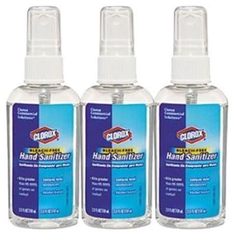 Amazon.com : Clorox 02174 Bleach-Free Hand Sanitizer Spray