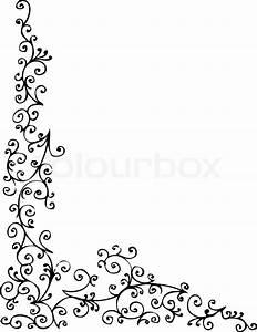Rahmen Vorlagen Schnörkel : barocke gefrorenen vignette 78 eau forte schwarz wei dekorative hintergrundmuster vector ~ Eleganceandgraceweddings.com Haus und Dekorationen