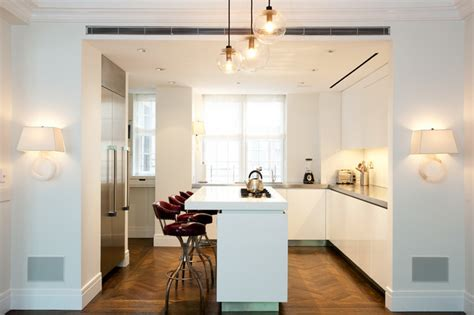 kitchens with wood floors contemporary pre war kitchen contemporary kitchen 8786