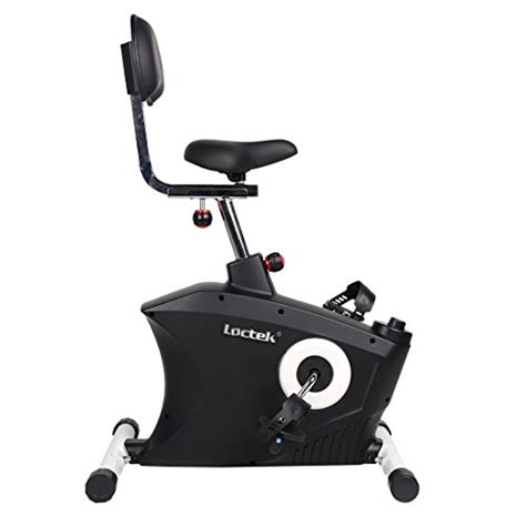 loctek u2 fitness under desk magnetic recumbent bike with