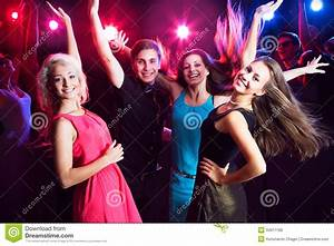 Young people at party. stock photo. Image of motion, blank ...