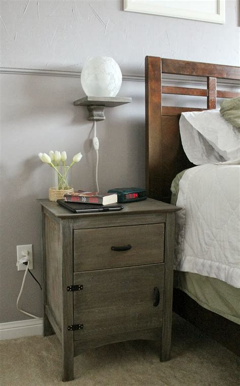 floating nightstand with drawer bedside wood nightstand table with floating l