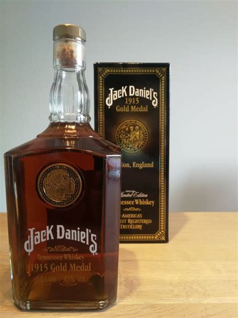 jack daniels  gold medal limited edition catawiki