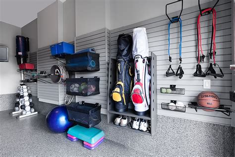 Garage Workout Room Ideas by How To Turn Your Garage Into A Fitness Room