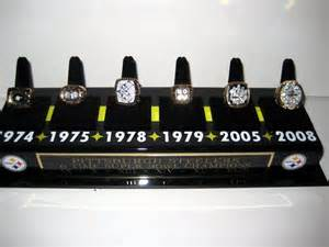 Steelers Super Bowl Rings