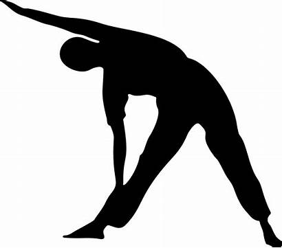 Stretching Dynamic Vs Should Clip Exercise Silhouette