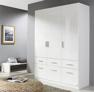 Kleiderschrank Weiß Brombeer : rauch celle kleiderschrank 3 trg hochglanz weiss 136 cm ~ Indierocktalk.com Haus und Dekorationen