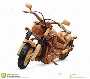 Wooden Motorcycle Royalty Free Stock Photos - Image: 13216018