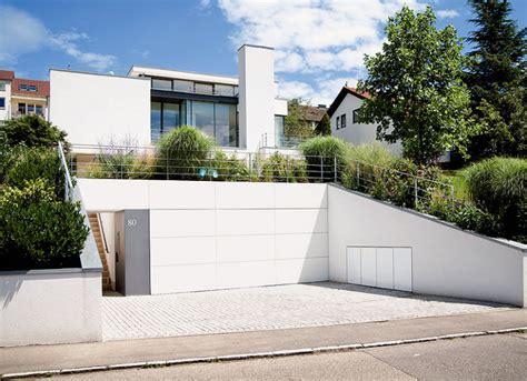 Moderne Häuser Mit Tiefgarage by Villen Garage Und Keller Unter Dem Rasen Bild 10 In