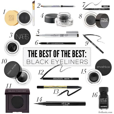 16 of the Best Black Eyeliners EVER