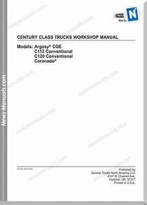 Iveco Century Class C112 C120 Coronado Workshop Manual