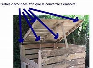 fabriquer le couvercle du composteur bois With peinture mur exterieur couleur 11 fabriquer un composteur en palette ou bois de recup