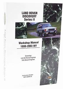 Land Rover Discovery Series Ii Repair Manual  Same As Part