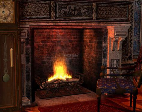 Free Animated Fireplace Wallpaper - fireplace animated wallpaper