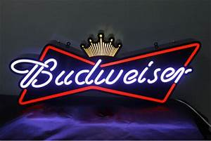 Budweiser Beer LED light box for Bar advertising sign