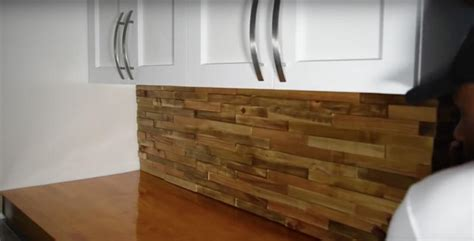Kitchen Ideas With Stainless Steel Appliances - how to make diy wood pallet backsplash page 3 of 3