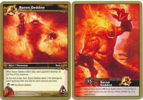 Baron Geddon Deck Molten by Baron Geddon Molten Raid 5 53 Wow Molten