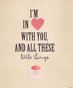 little-things-lyrics | Tumblr