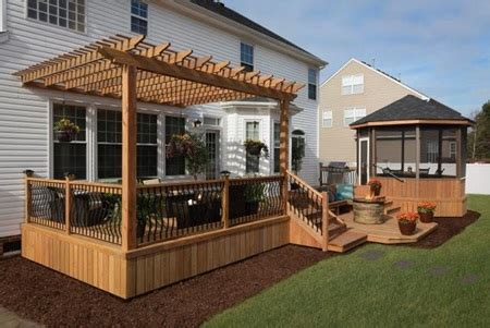 color treated wood technology    deck