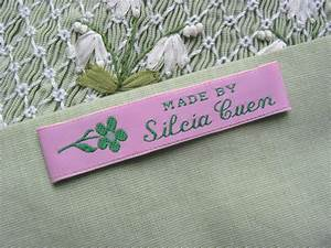 iron on fabric labels iron on woven clothing labels With cloth tags for handmade clothing