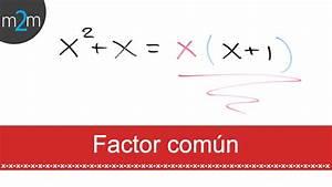 * Factor común - YouTube  Factor