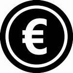 Euro Icon Coin Symbol Icons Profit Vector
