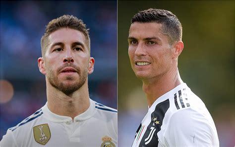 Former Real Madrid team-mates, Cristiano Ronaldo and ...